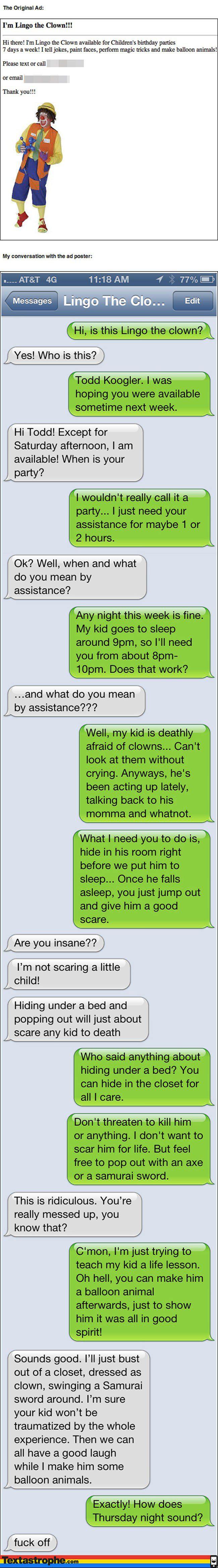 Lingo the Clown