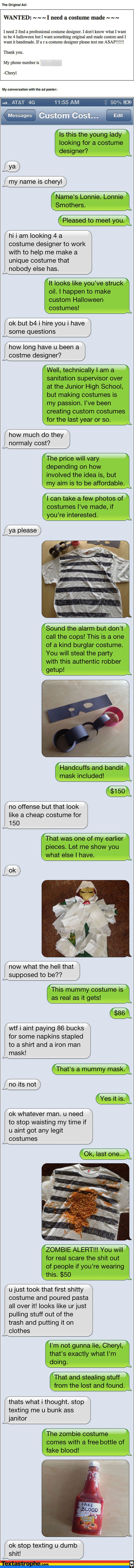 The Custom Costume