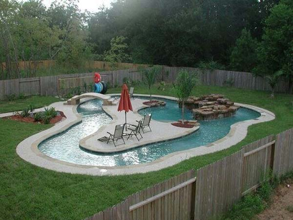 Superbe 28.) A Lazy River: Getting Anything Done Is Impossible At This House.