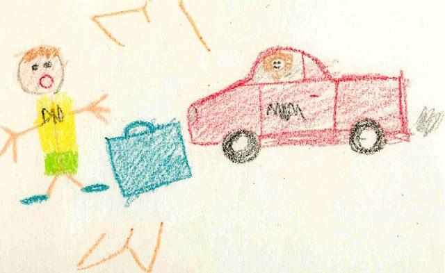 20 Totally Disturbing Children\'s Drawings. You\'ve Been Warned...
