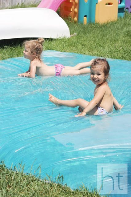 Don't have a pool? Make a leak-proof water blob.