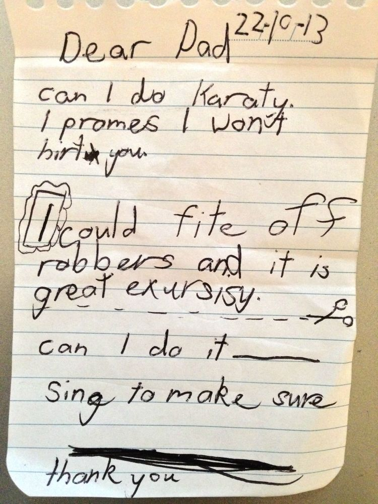30 Of The Most Hilarious Letters Written By Children