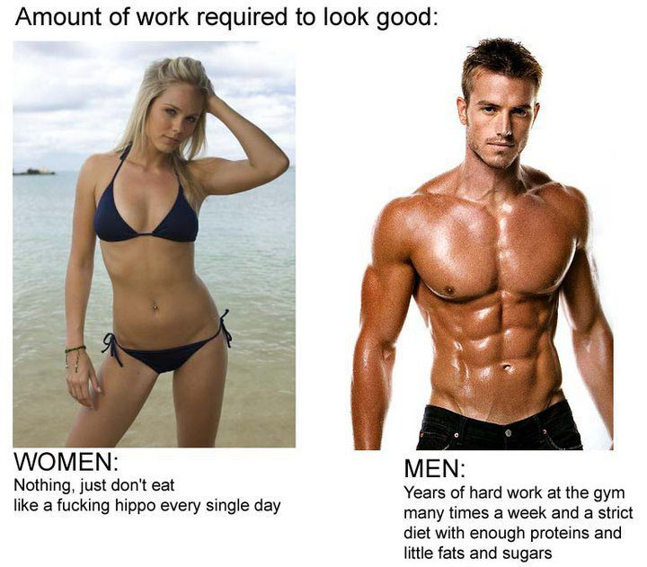 image Female vs male ass comparison which do you prefer