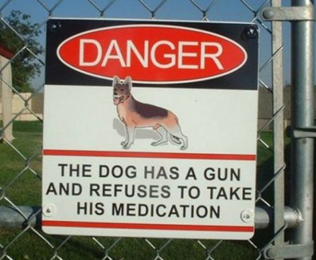 Funny Signs: 27 Of The Funniest Signs You Will Ever See