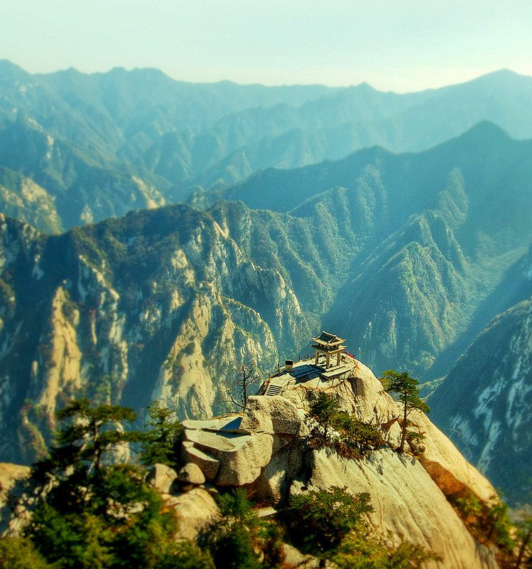 Thousands of people climb the world's most dangerous path to end up at a teahouse.