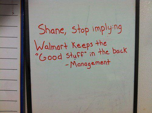 walmart employee