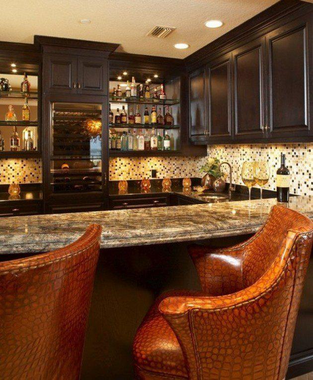 Home Bar Plans: 52 Awesome Home Bar Designs