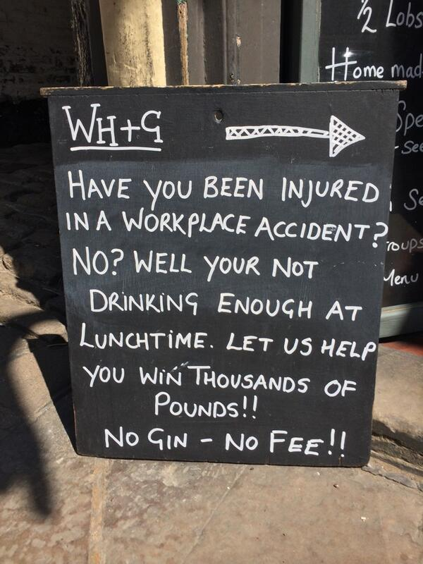 28 hilarious bar signs that you haveto see