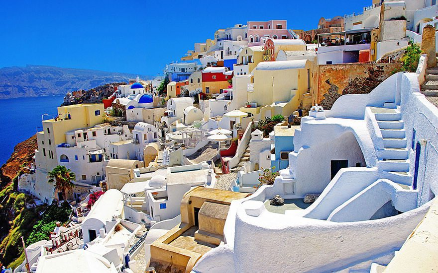 Cool Places World Perspective Color Houses