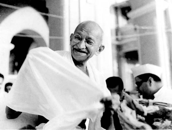 10.) Mahatma Gandhi, as you know, walked barefoot most of the time, which produced an impressive set of calluses on his feet. He also ate very little, which made him rather frail and, with his odd diet, he suffered from bad breath…. This made him a super calloused fragile mystic hexed by halitosis.