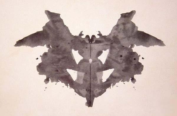 2.) Who is this Rorschach guy? … and why does he paint so many pictures of my parents fighting?