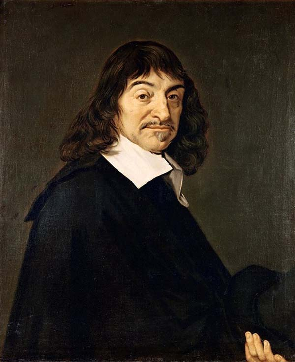 "4.) René Descartes walks into a bar. Bartender asks if he wants anything. … René says, ""I think not,"" then disappears."