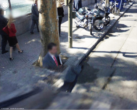 57 Of The Most Unusual Images On Google Street View