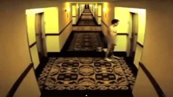 Guy Locks Himself Out Of Hotel Room, Takes Most Painful Walk Of Shame Ever