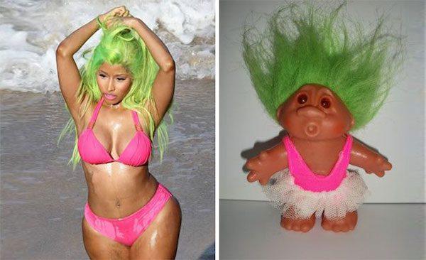 Nicki Minaj and this troll