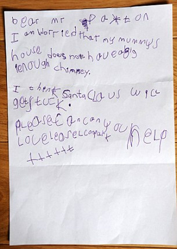 25 hilarious childrens letters to santa letters to santa spiritdancerdesigns Image collections