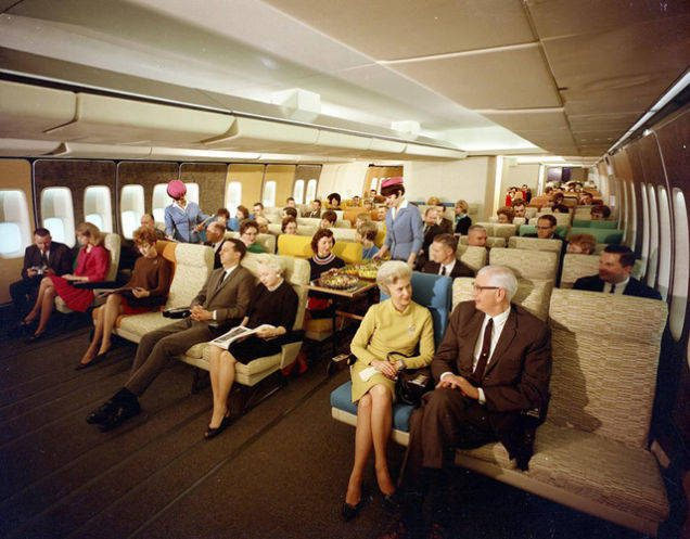 Great airplane travel service and experiences existed in the 1950s and '60s, but it was incredible around the 1970s.