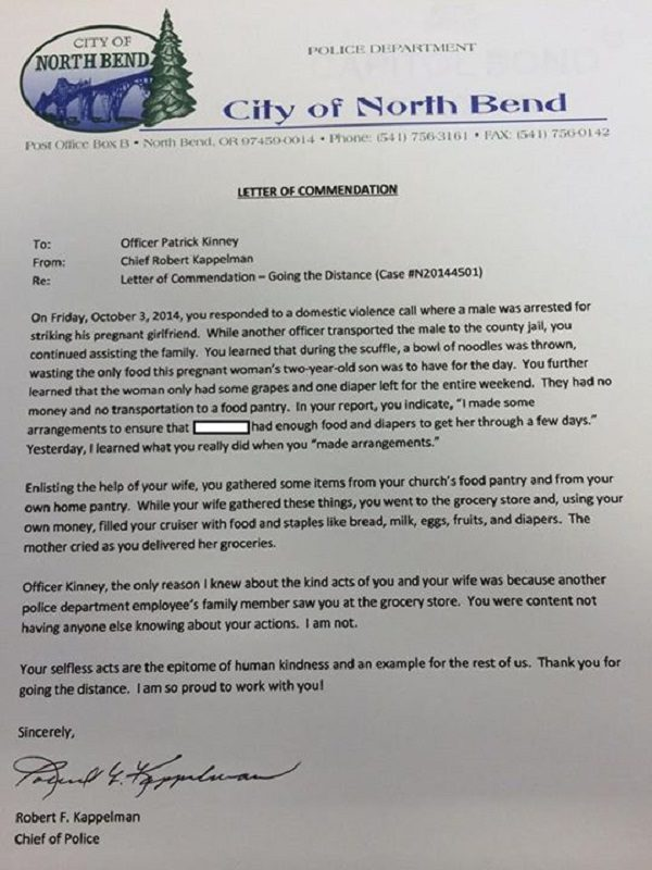 Chief Of Police Cover Letter Sample
