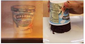 Microwave Ice Cream Cake