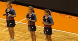 Firecrackers jump rope team