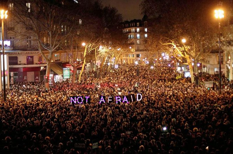 not afraid paris