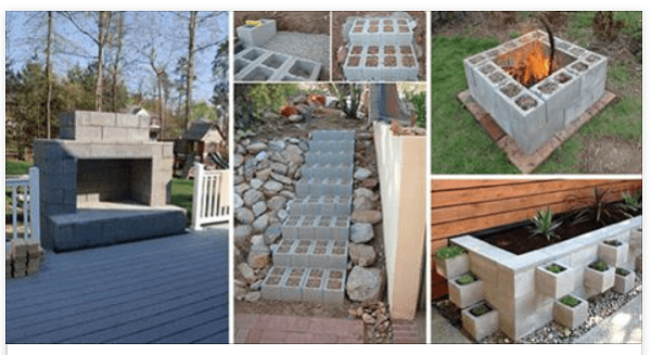 Here Are 14 Creatively Different Ways To Use Cinder Blocks