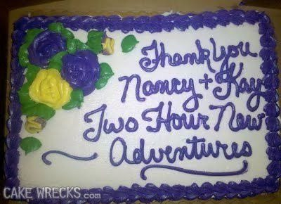 21 Cake Messages That Are Failing So Hard They Are Funny