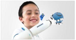 Lego-Compatible Prosthetic Arm