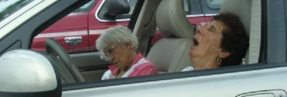 speeding ladies