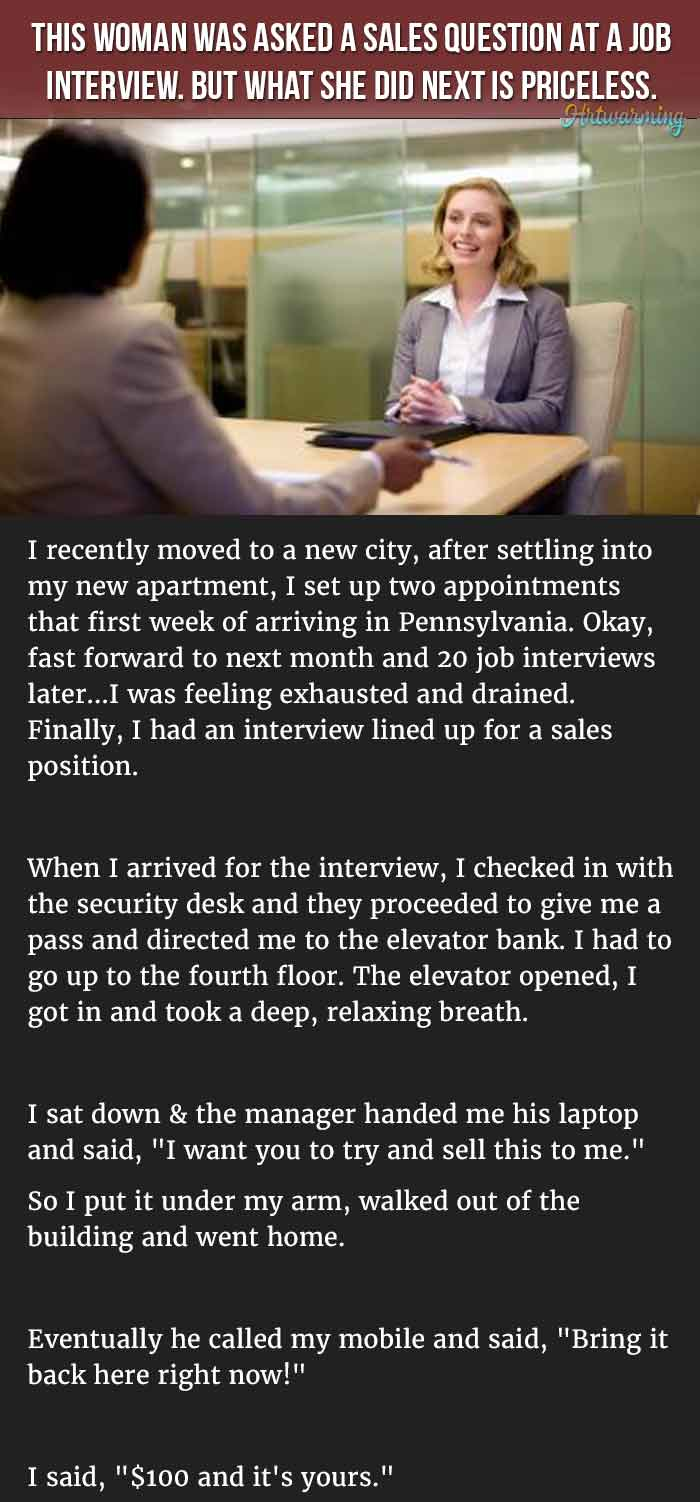 this is the best response to the most overused job interview question
