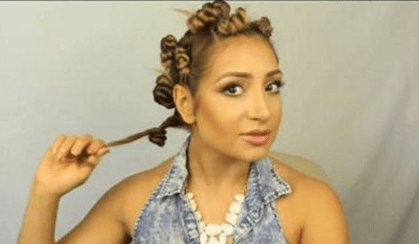 Putting Your Hair In A Bun To Get Curly Overnight How