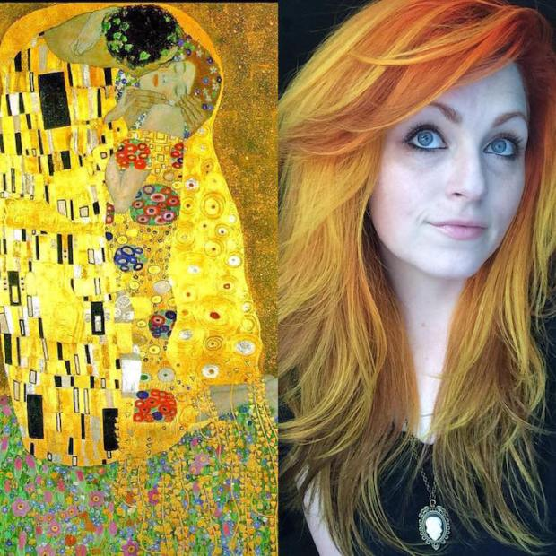 Hair Colors Inspired By Famous Artworks 3