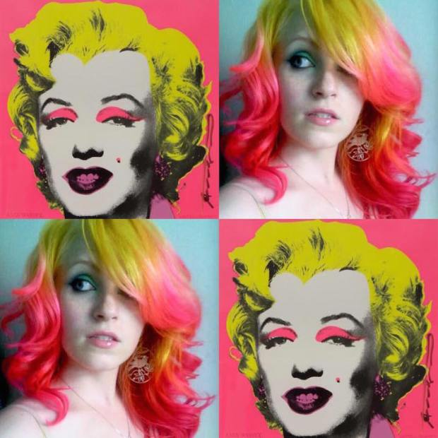 Hair Colors Inspired By Famous Artworks 5