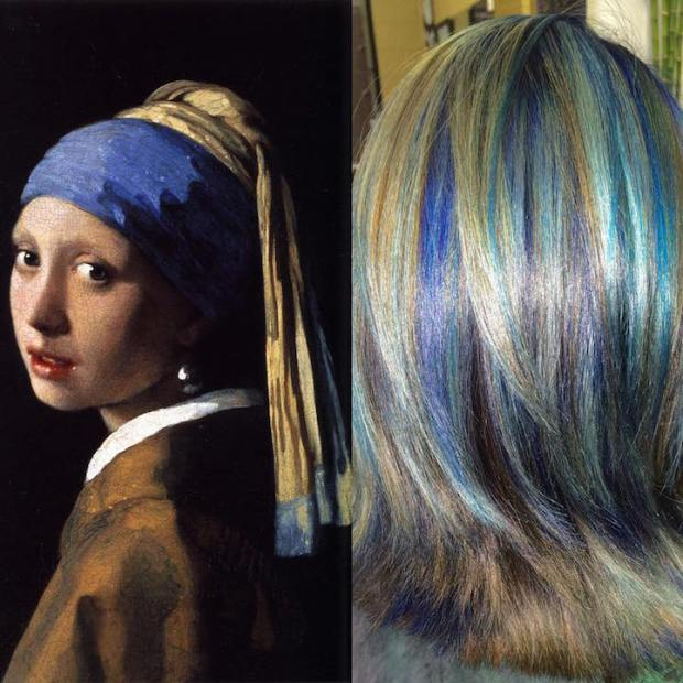 Hair Colors Inspired By Famous Artworks 9