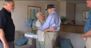 WWII veteran reunites with long lost love 70 years later