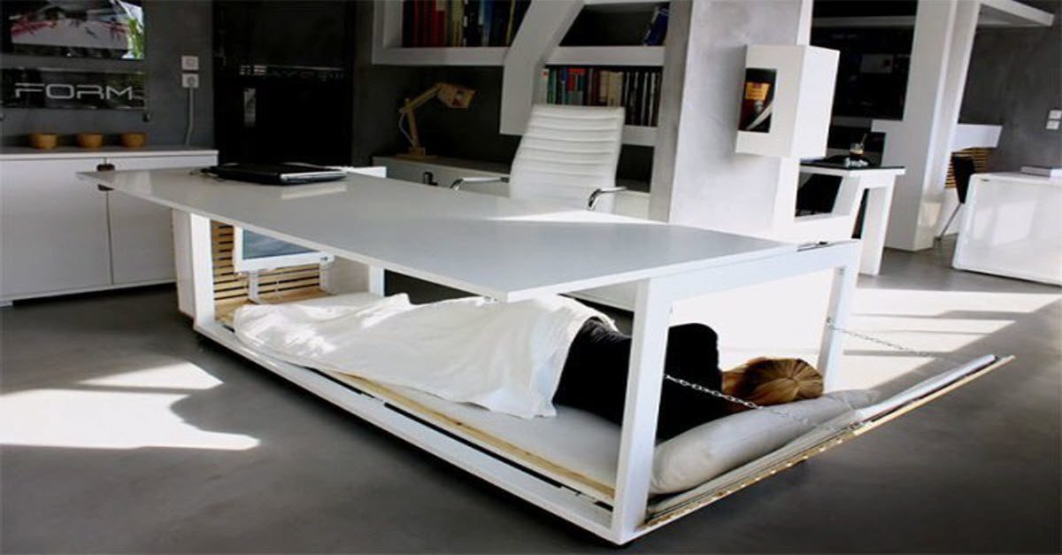 You Can Now Sleep At Work With This Nap Desk Which
