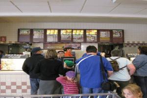 fast food worke