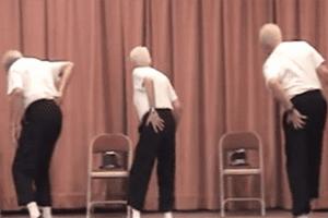 dancing senior citizens