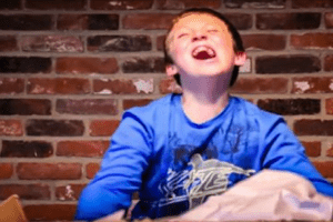 handicapped boy letter to lego