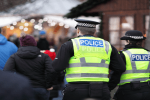 officers ask men abused women