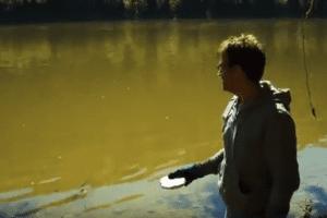 sodium in the river