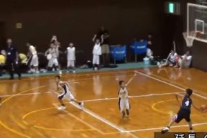 youth basketball team celebrates
