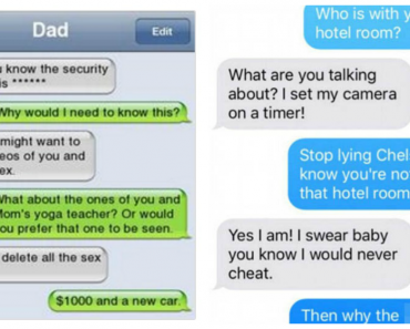 Caught Cheating Texts