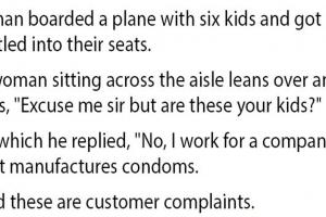 condom complaints