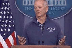 bill murray white house