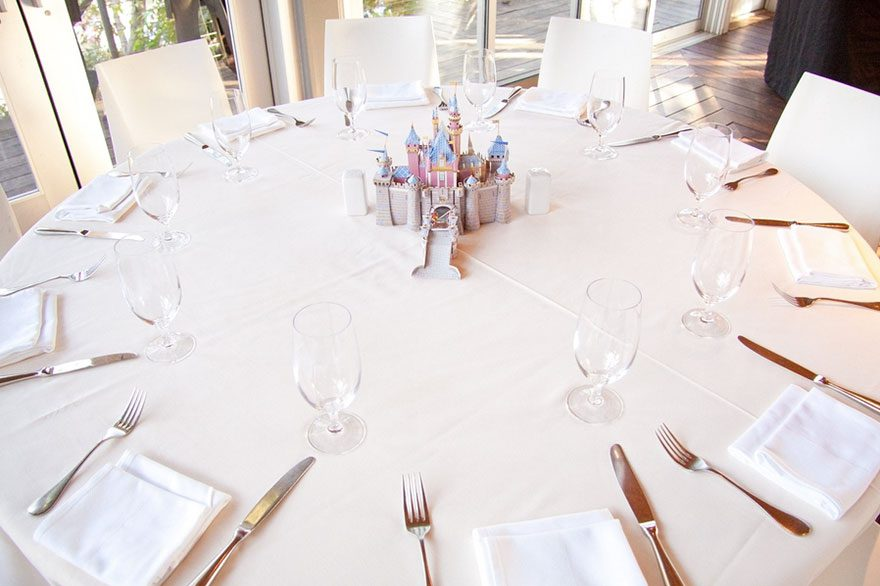 Each Table At This Couple S Wedding Was Inspired By A
