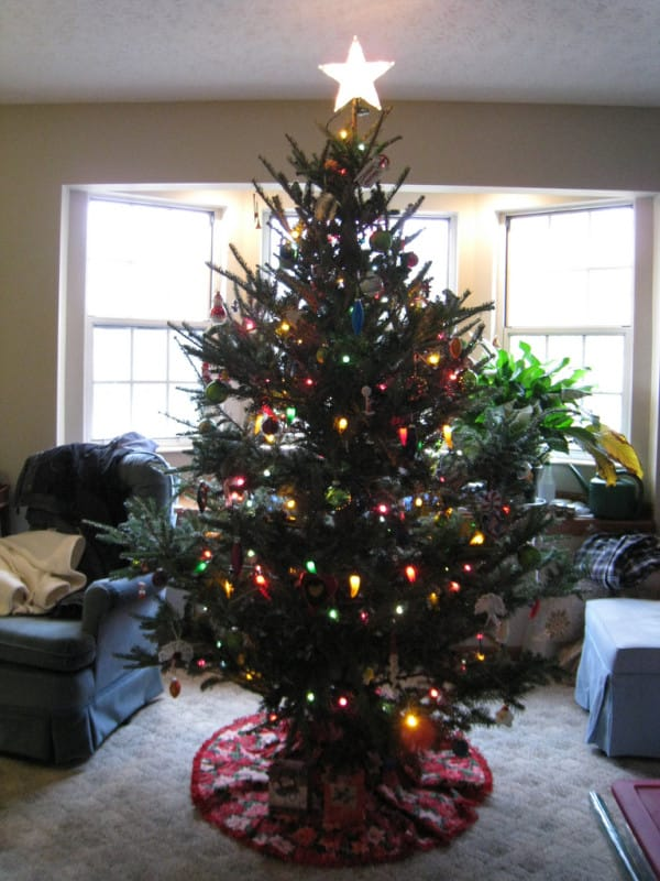 miss the smell and feel of a real christmas tree maybe you won t after reading this. Black Bedroom Furniture Sets. Home Design Ideas
