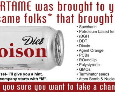 Aspartame Danger