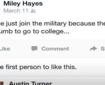 military facebook bullying