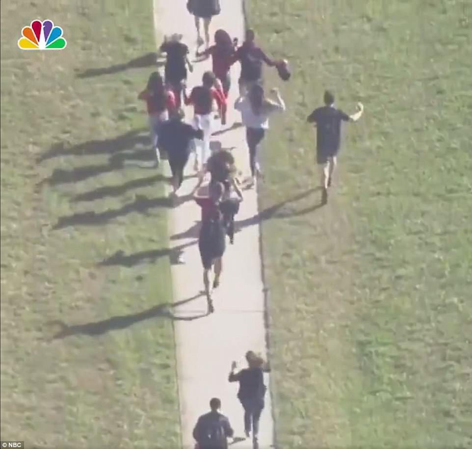 Parkland Florida School Shooting 'Leaves At Least 17 Dead